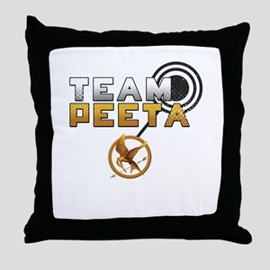 Team Peeta [Hunger Games] Throw Pillow